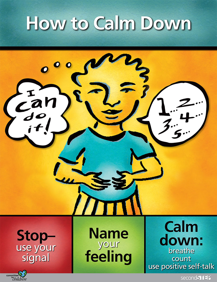 steps for calming down